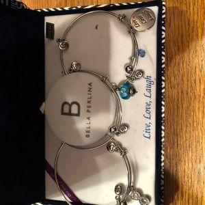 NWT Bella Perlina Bracelet Set